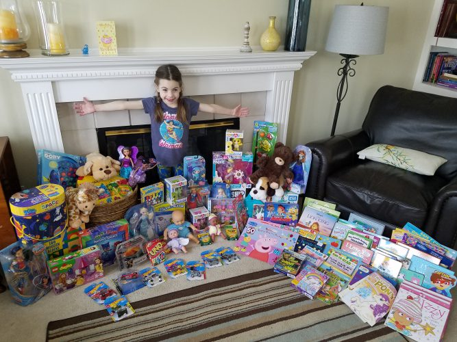 Hannah Mae Campbell 6 Received A Lifesaving Heart Transplant At 4 Months Old She Recently Donated Her Birthday Presents To Seattle Childrens