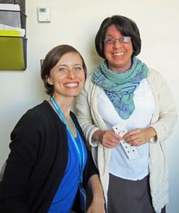 Jaime Ralston-Wilson (left) and Elizabeth (Liz) Artola
