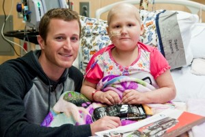 Kahne and Cancer Patient - Web