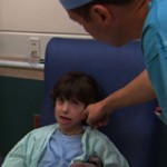 Mavrick before surgery