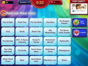 Screenshot - Five answers