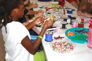 Stanley Stamm Camp - Bead Making