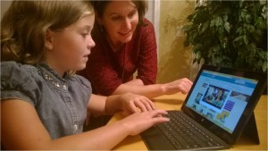 Families can learn about science together by watching videos and playing games on the new Science Adventure Lab website.