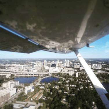 📷: @indieglo.w over downtown Orlando.