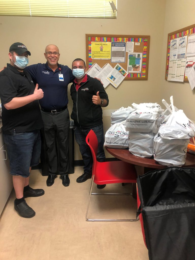 Photos from Huey Magoo's Company-Wide Lunch Donation Day For First Responders on 4/29
