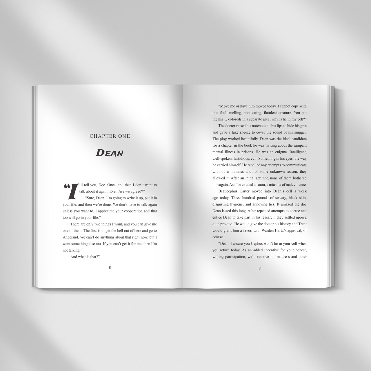 The Road to Angeland - Interior Formatting After