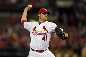 Cardinals starter John Lackey. Courtesy of Google Images