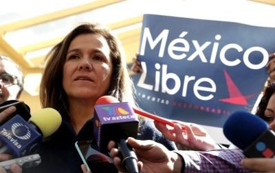 México Libre leader Margarita Zavala