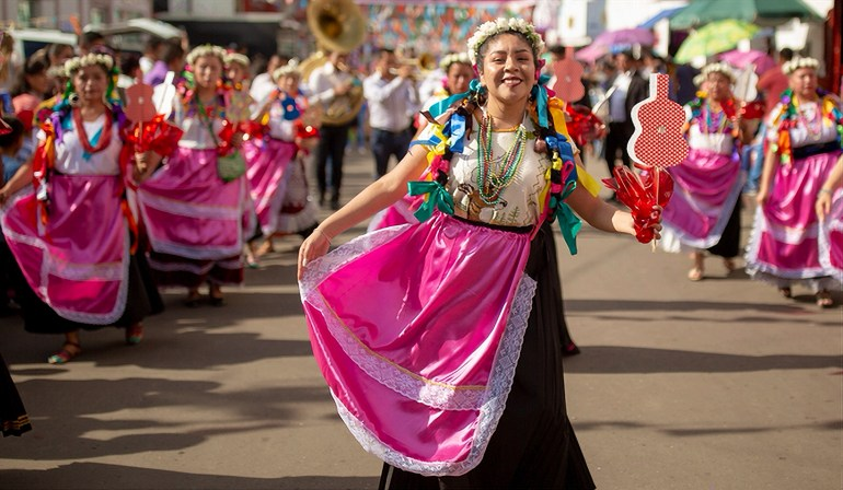A Paracho dancein the state of Michoacán. Photo: Sectur