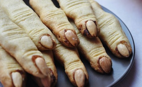 #6 Witch's Finger Cookies