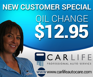 New Customer Special: $12.95 Oil Change