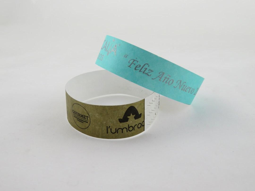 pulseras plastico
