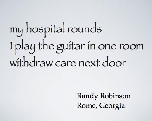 my hospital rounds - robinson