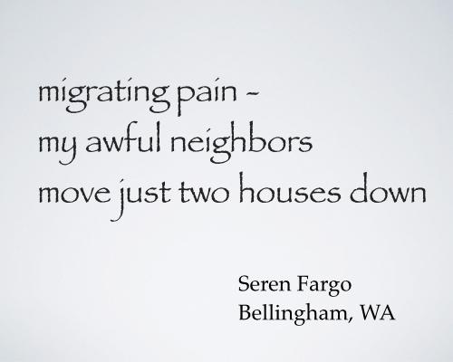 migrating pain - fargo