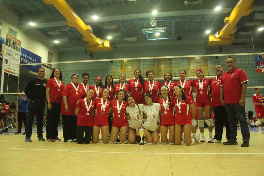 La IUPI se posiciona en tercer lugar en ambas ramas del voleibol de la LAI
