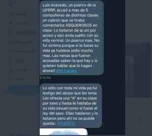 Denuncian por acoso y hostigamiento sexual a exestudiante y exprofesor de la UPRRP