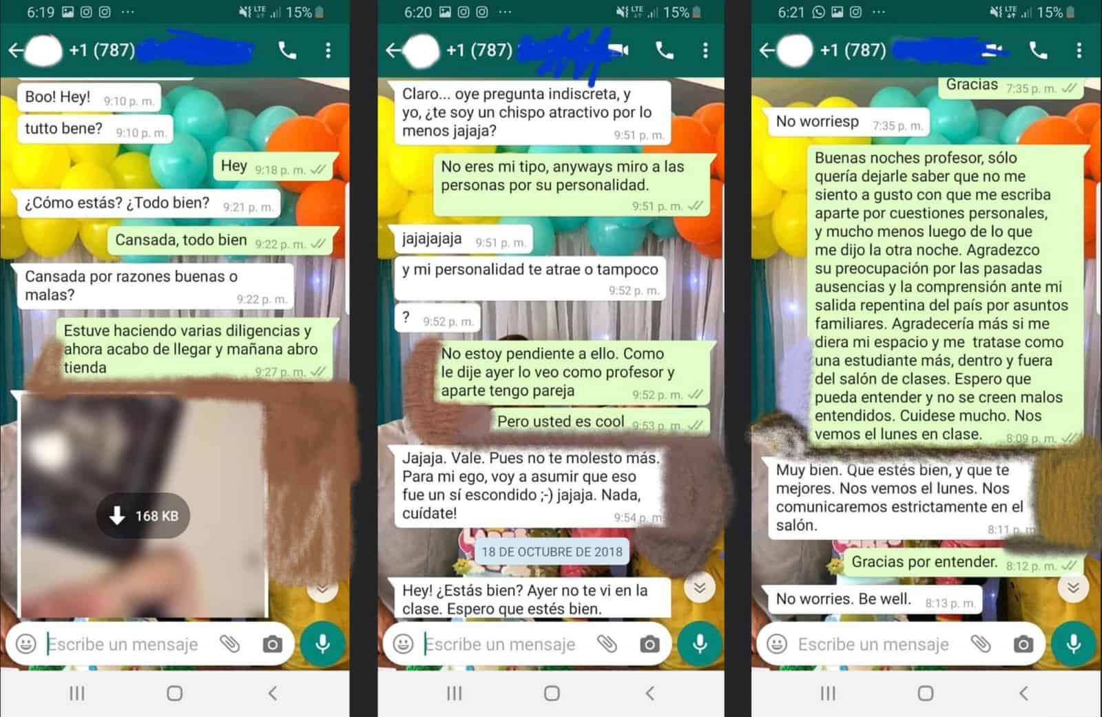 Denuncian acoso por parte de psicólogo de DCODE y dos profesores de la IUPI