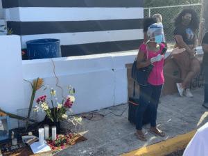 Al son de bomba vigilia a víctimas de la violencia racista