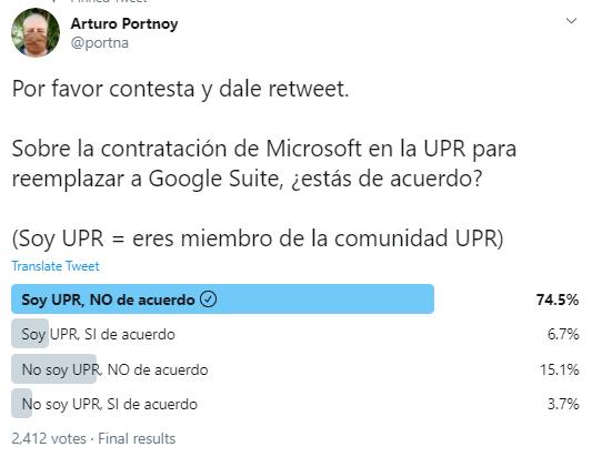 Estudiantes y empleados de la UPR reciben información sensitiva en cuentas de Microsoft 365