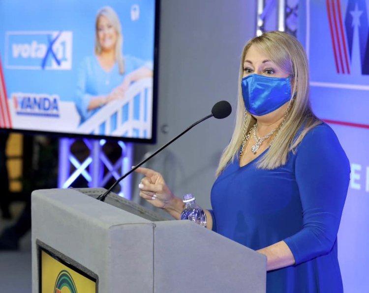 Wanda Vázquez espera estar favorecida durante la segunda ronda de la elección primarista