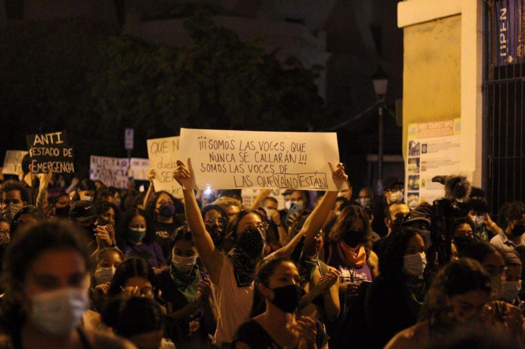 Se apoderan de las calles para tumbar el patriarcado