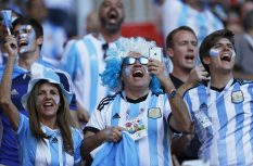 Russia Soccer WCup Argentina Iceland