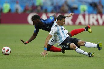 APTOPIX Russia Soccer WCup France Argentina