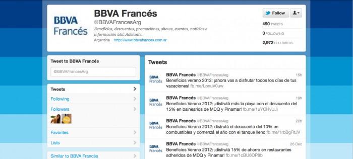 BBVA ARG Twitter