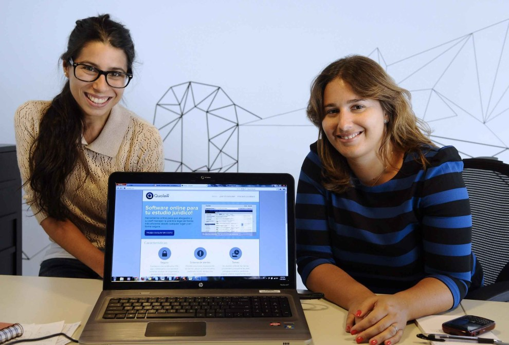Yael Frylinsztein y Lorella Jalles fundadoras de Quolaw