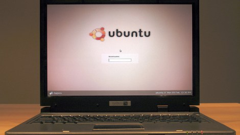 Ubuntu laptop
