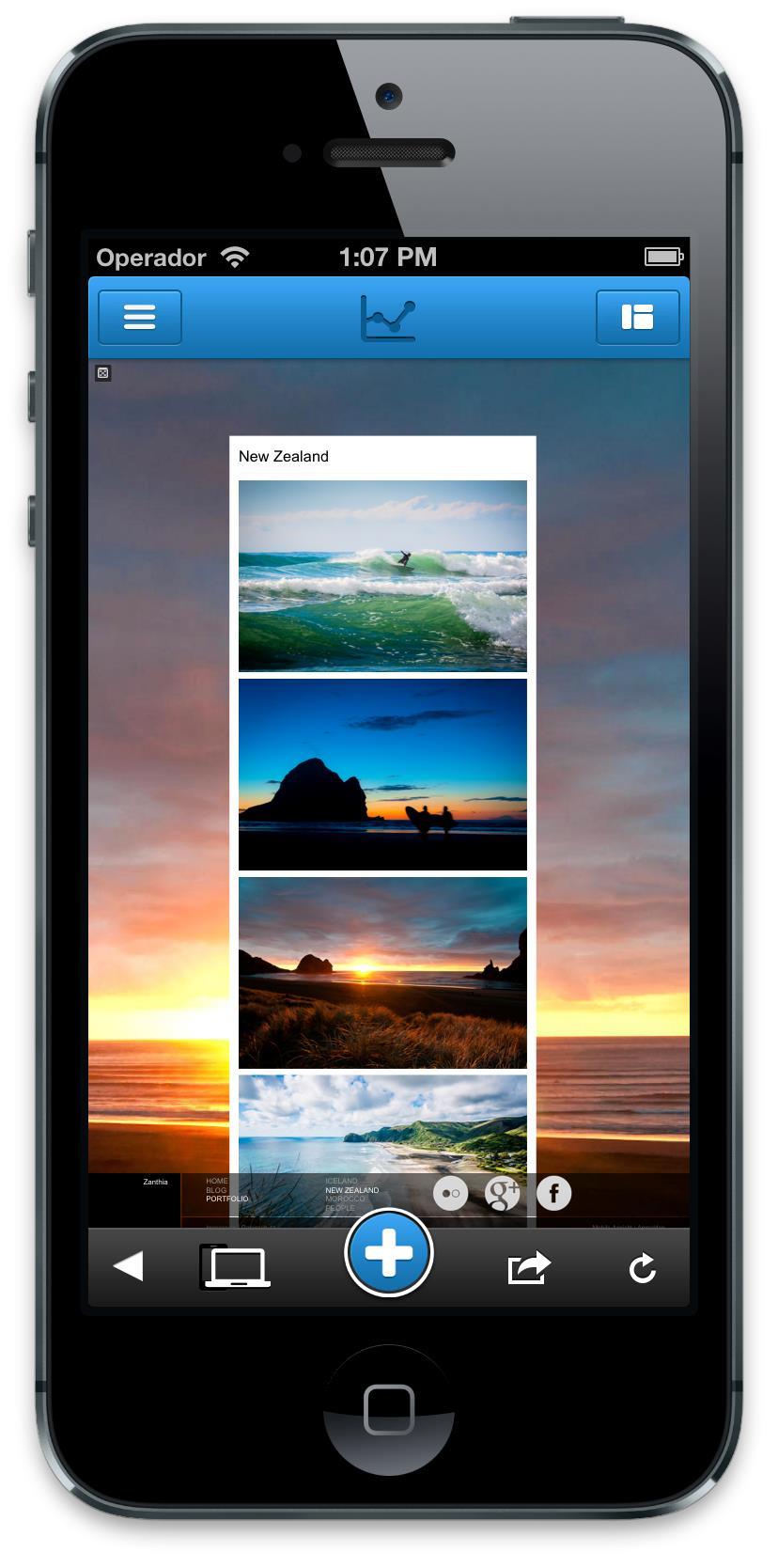 Jimdo App iOS5
