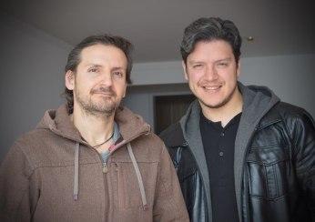 Alejandro Quintero y Oswaldo Álvarez, cofundadores de Cuestiona.me.