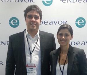 Felipe Herrera Zoppi y  Livia Moreira Armani