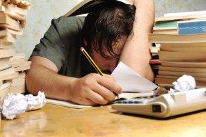 stressed-worker