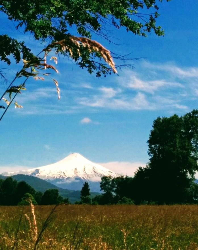 région des lacs au Chili avec le volcan Osorno