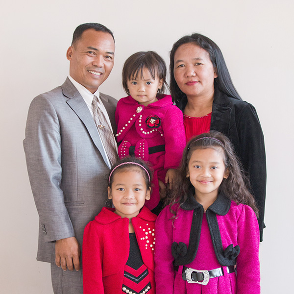 T. Pumkhothang and Family