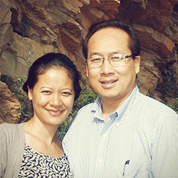 Rev. & Mrs. Khen P Tombing