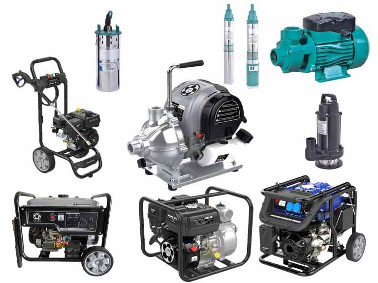 Gol Pumps Products Collage min