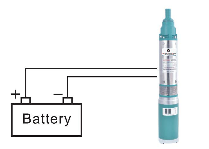 solar pump system whit battery