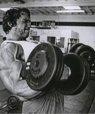 Kak nakachat' biceps bystro - metodika Arnol'da Shvarceneggera