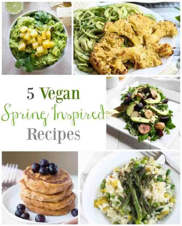 5 Vegan Spring Inspired Recipes // pumpkin & peanut butter