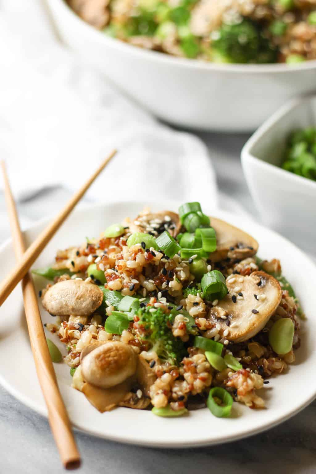 Teriyaki Quinoa True Food Kitchen
