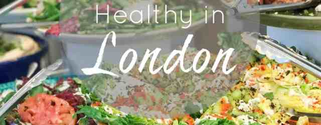 Where to Eat Healthy in London || pumpkin & peanut butter