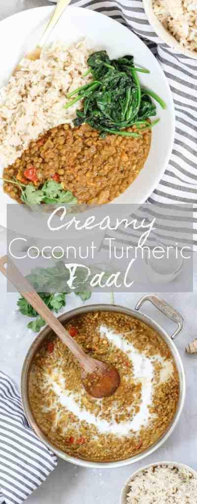 Creamy Coconut Turmeric Daal {vegan, gluten free} | pumpkin & peanut butter