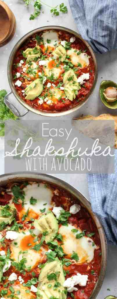 Easy Shakshuka with Avocado | pumpkin & peanut butter