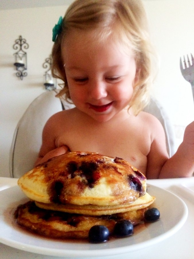emma and pancakes