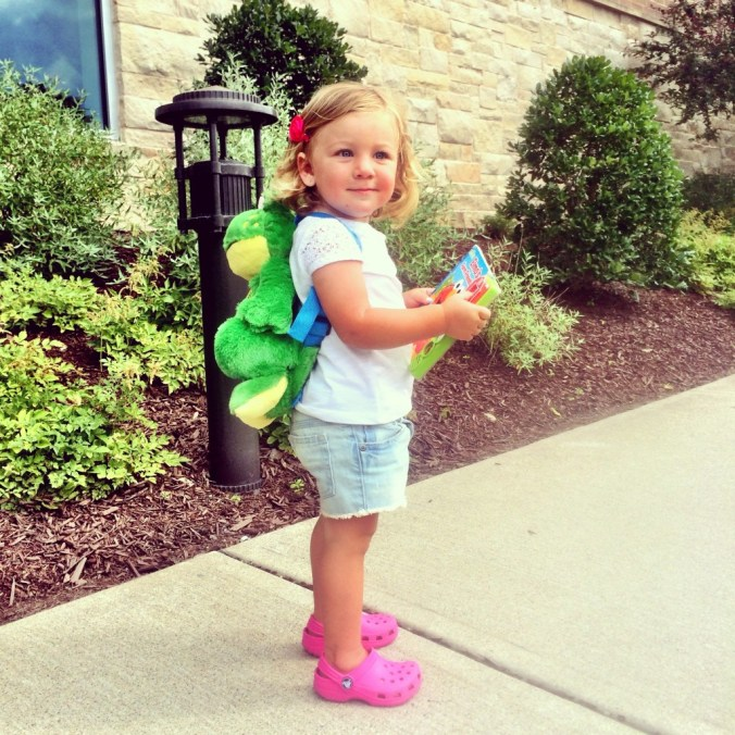 big girl backpack