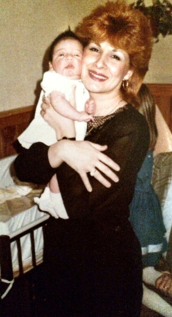 me and aunt lucille 1984