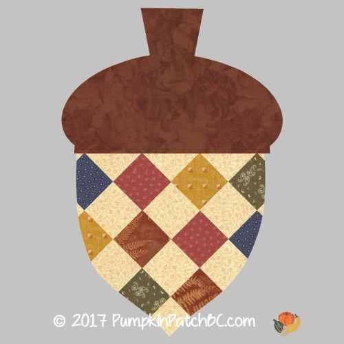 Acorn Potholder