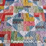 30s Jelly Roll Quilt Detail 1
